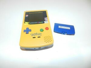 Pokemon-Pikachu-Nintendo-Game-Boy-Color-Handheld-System-Console-CGB-001-Tested