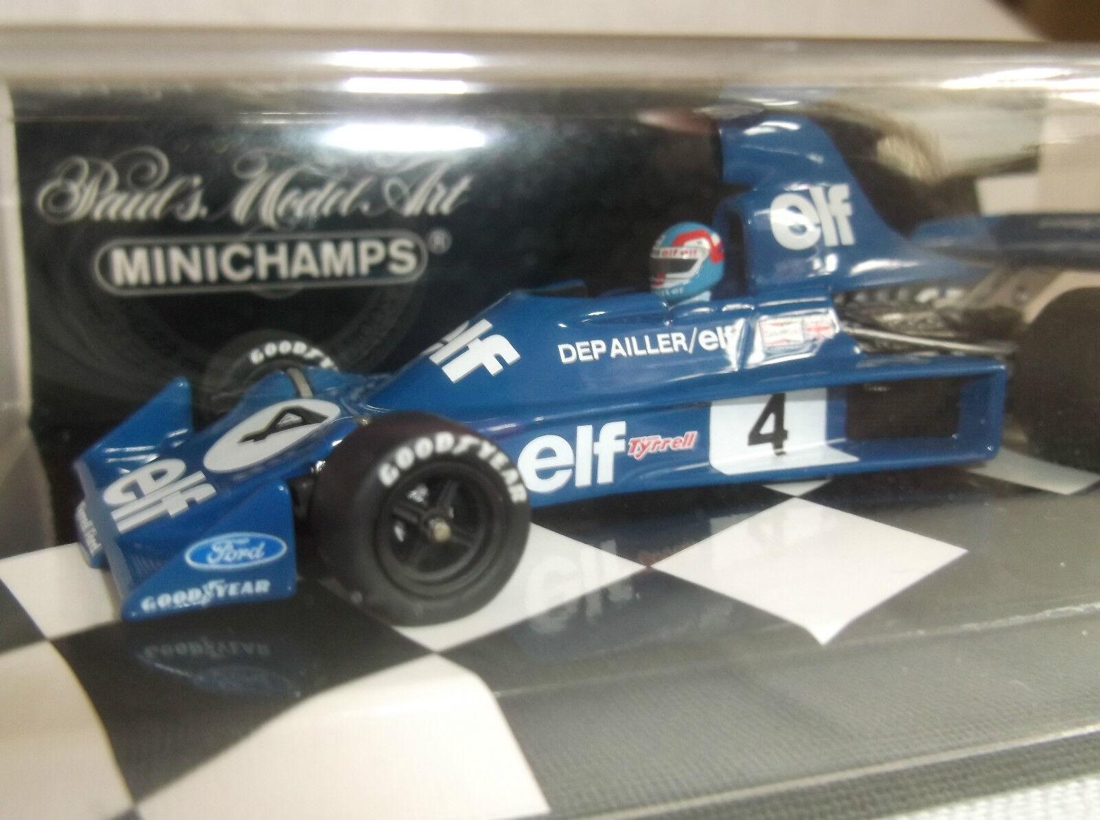 BRAND NEW MINICHAMPS 1 43  P. Depailler  Tyrrell Ford 007  750004  1975 F1