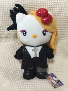 dfa27a06d SANRIO Hello Kitty X Japan Yoshiki Plush Doll stuffed Limited design ...
