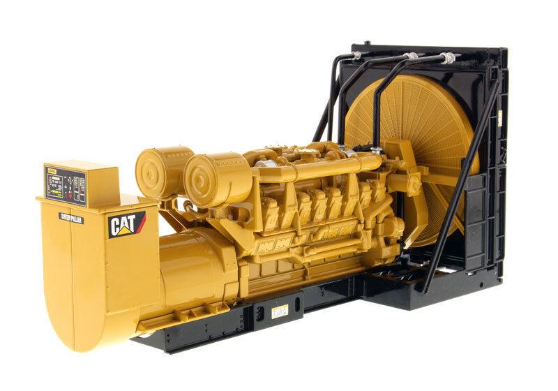 1/25 conjunto Generador Caterpillar 3516B Paquete-Diecast Modelo No.85100 camiones coches