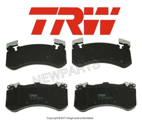 For Audi S6 S7 S8 Front Disc Brake Pads TRW GDB1911//4G0 698 151 F