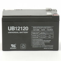 Upg 12v 12ah Replacement Battery For Emergency Exit Lighting on sale