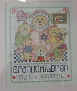 1-Darling-034-Grandchildren-034-Counted-Cross-Stitch-Kit