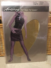 Vintage Aristoc Pantyhose nude sm/md tights pantyhose w/ model