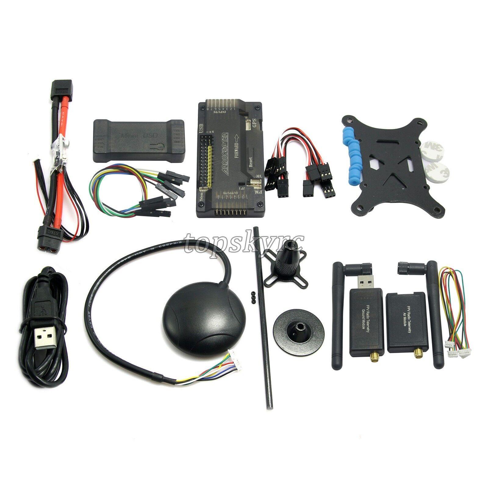 Controlador de vuelo APM2.8 ArduPilot NEO-7M GPS PM 433Mhz 433Mhz 433Mhz Cable de telemetría osd&usb  vendiendo bien en todo el mundo