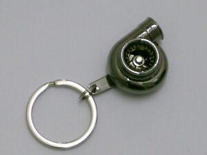 Obligatorisch Burstflow Schlüsselanhänger Tuning Racing Turbolader Turbo Schwarz Black 01 Accessoires & Fanartikel Automobilia