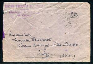Enveloppe En Fm De La Mission Française De Liaison En 1942 - M 134