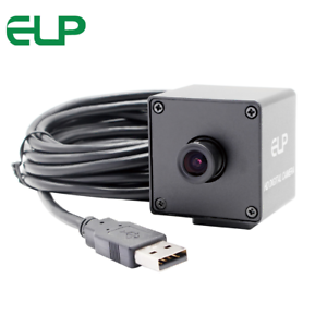 2MP 1080P Black and White Monochrome High Speed 120fps USB Camera 2.8mm Lens
