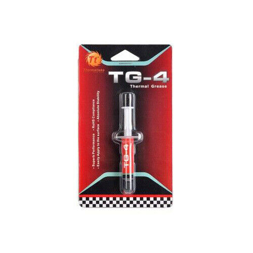 Thermaltake TG-4 Thermal Grease RoHS Compliant CL-O001-GROSGM-A F42