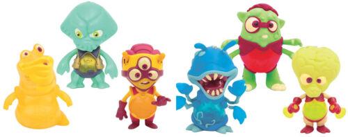 Exogini Triple Figurine Pack-Light Up Alien Figures NEW