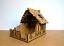 28mm-Fantasy-Tudor-Style-Small-House-T4B-Ruin-2mm-MDF-Laser-Cut-Kit thumbnail 5