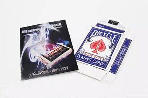 Misdirection-Deck-David-Stone-Card-Magic-Tricks-Bicycle-Card-Deck-Close-Up-Trick