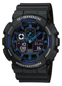 OROLOGIO-CASIO-G-SHOCK-GA-100-1A2ER-WATCHPESCARA-CONCESSIONARIO-UFFICIALE