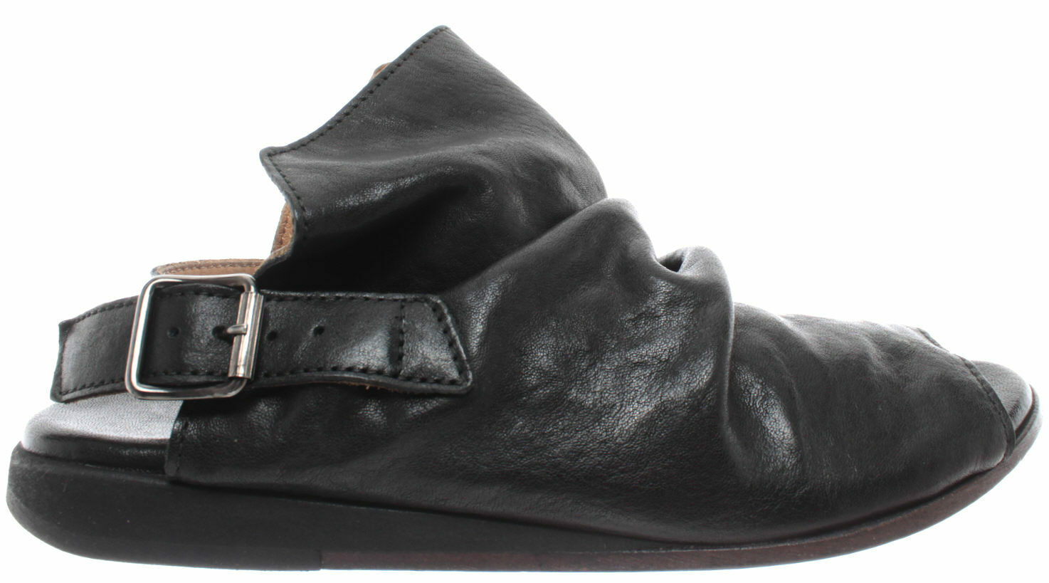 MOMA Women's shoes Sandals Sandals Sandals 36903-8A Lubrix black Leather Black Made in  New e57775