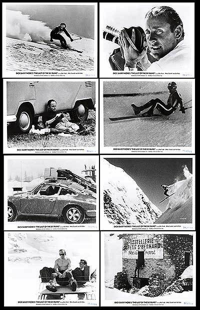 THE LAST OF THE 1969 SKI BUMS orig 1969 THE documentary movie lobby photos SNOW SKIING 0b656e