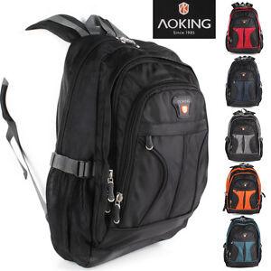 Details zu Rucksack AOKING Sport Reise City Schul Tasche Day Back Pack Outdoor Freizeit TOP