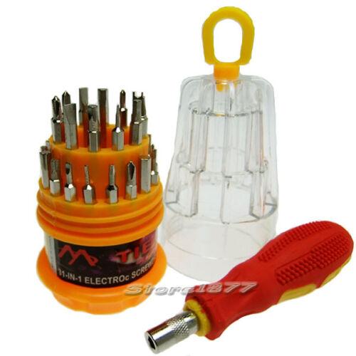 31 in 1 Screwdriver Set Screw Magnetic Handle For Repair Tools s652