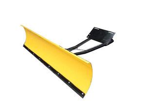 Universal Schneeschild gelb für Quad ATV UTV Schneeräumschild 150cm Schneepflug