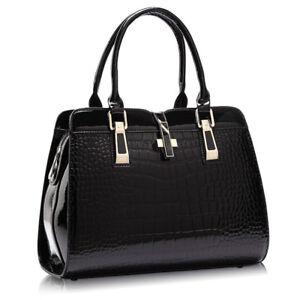 Image Is Loading Las Pu Leather Hand Bags Women Shoulder Bag