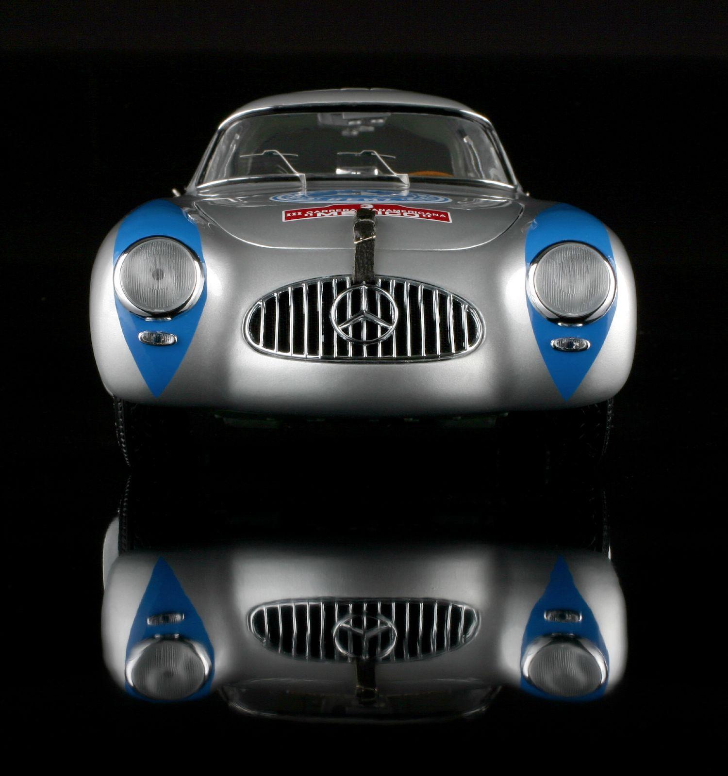 ✅  CMC M-058 Mercedes-Benz PanAmericana 300 SL 1955   3 Hermann Lang ✅ RARE