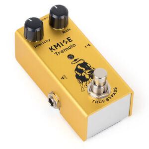 Kmise-Guitar-Effect-Pedal-Tremolo-Pedal-Mini-Intensity-Rate-Control-True-Bypass