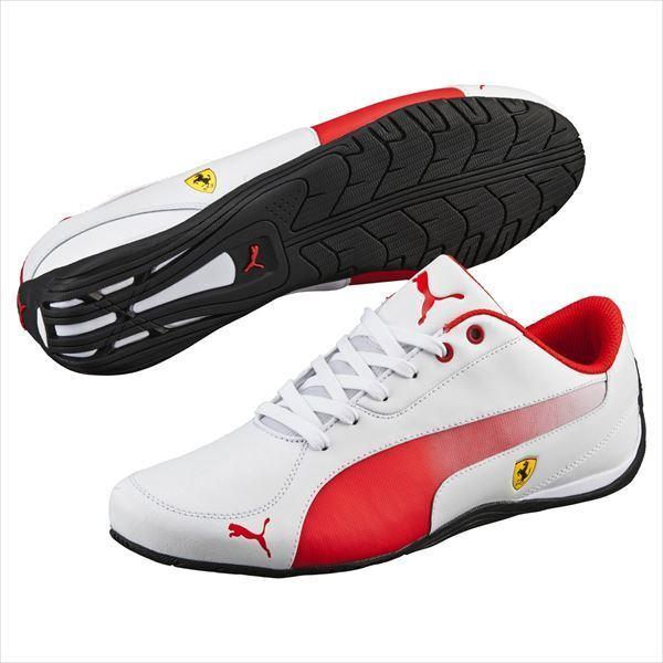 "e026dee10 Nuevo Puma Ferrari Drift Cat 5 5 5 Sf Zapatos para hombre Blanco Rosso  Corsa negro. """