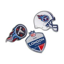 NFL Jacksonville Jaguars London Games 2018 3 Pack Pin Badge Set Unisex Fanatics