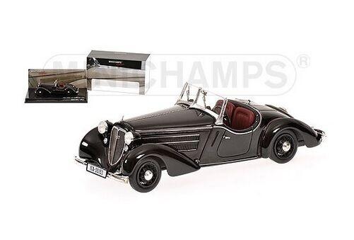 MINICHAMPS 437019131 - 1 43 AUDI Front 225 roadster 1935 noir