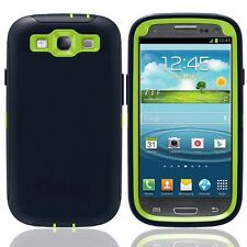 NEW OtterBox Defender Series Case & Holster for Samsung Galaxy S3 Navy Green