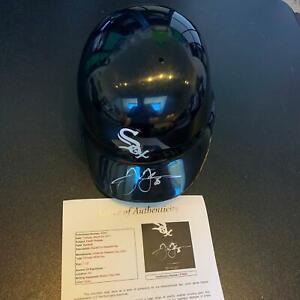 1990-039-s-Frank-Thomas-Signed-Authentic-Game-Model-Chicago-White-Sox-Helmet-JSA-COA