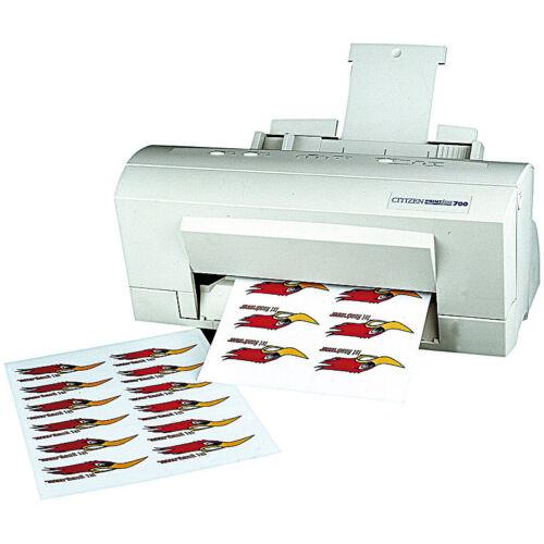 Klebefolie Laser 20 Klebefolien wetterfest A4 für Laserdrucker weiß