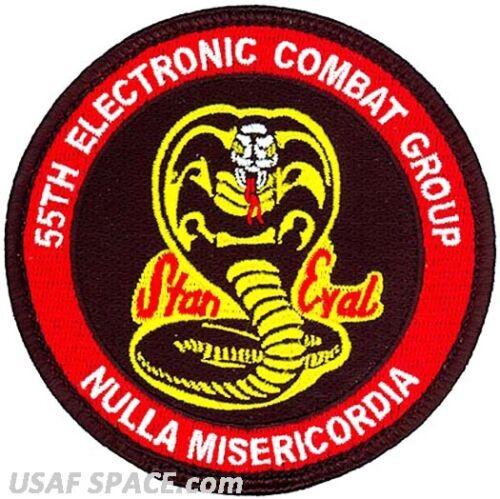 STAN EVAL-Davis-Monthan AFB USAF 55th ELECTRONIC COMBAT GROUP ORIGINAL PATCH