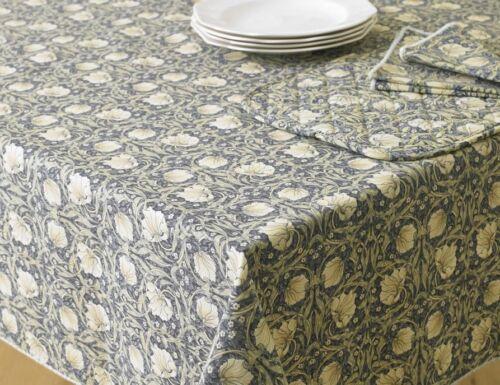William Morris Pimpernel  132 cm x 178 cm Floral Cotton Tablecloth