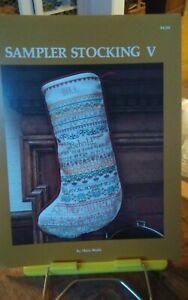 Cross-stitch-chart-Mary-Beale-Sampler-Christmas-Stocking-5-tidings-great-joy