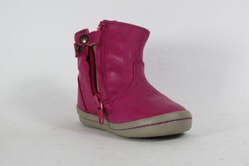 """/""""Mini Mosbo/"""" girls /'Magenta/' boots in pink with side zip Noel"""