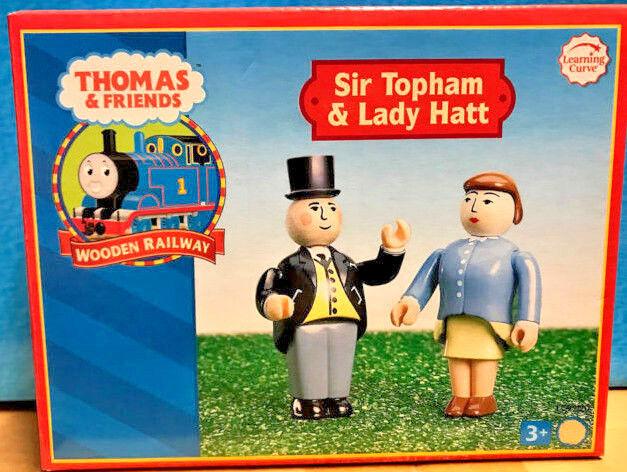 Curva de aprendizaje Thomas y amigos de madera Sir topham