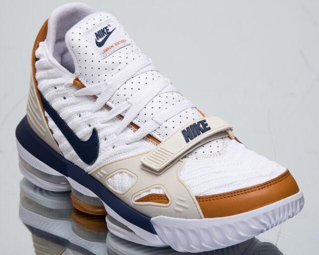 1bbf3442e36b Nike LeBron XVI Air Trainer Medicine Ball Mens White Basketball Shoes  CD7089-100