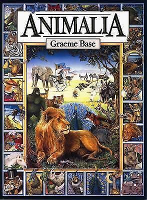1 of 1 - Animalia by Graeme Base (Paperback, 1990)