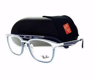 e01a9466831 New Ray Ban Eyeglasses RB 7117 8019 Transparent Light Blue 50•19•145 ...