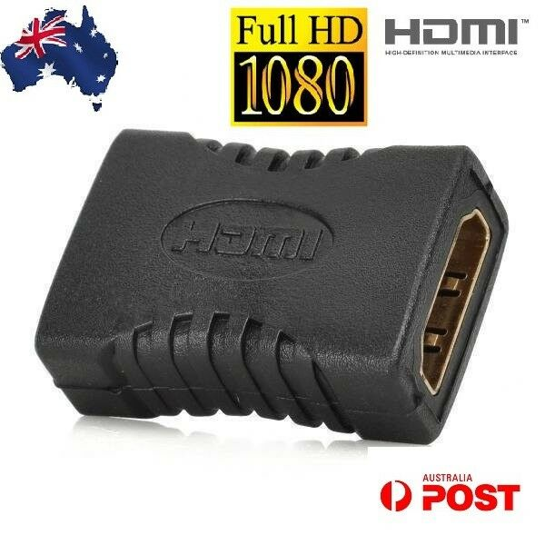 HDMI Female To Female Joiner Connector Coupler Adapter