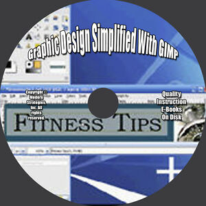 Details about GRAPHIC DESIGN SIMPLIFIED WITH GIMP! Tutorial Videos! *
