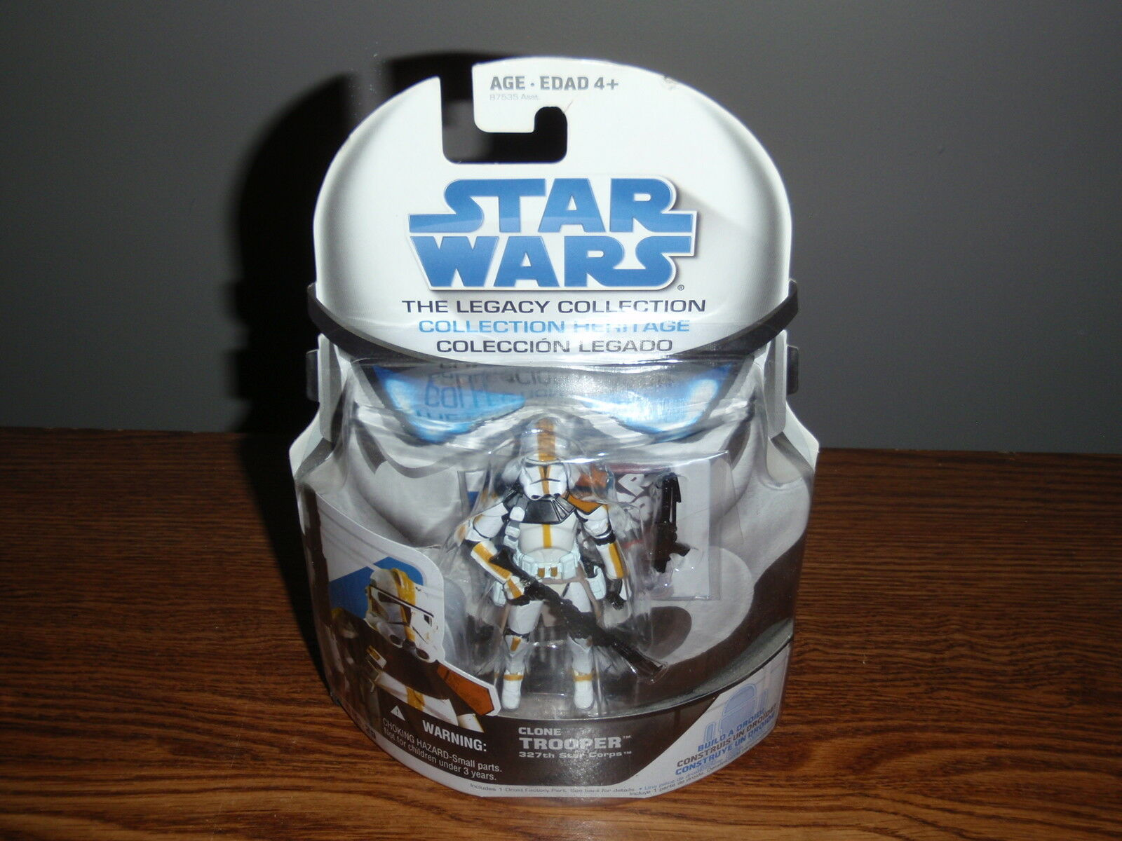 STAR WARS Legacy Collection BD 29 Clone TROOPER 327th Corps 2008 R5-A2 Figure