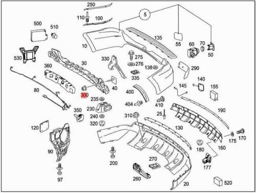 Genuine MERCEDES V251 W164 W251 X164 MPV SUV Multiple Nut 0029903150
