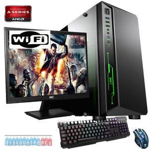 FAST-A8-9600-3-4GHz-QUAD-CORE-Gaming-PC-Computer-Bundle-8GB-1TB-Fortnite-dp605