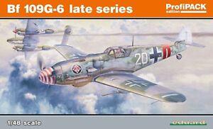 Eduard 82111 Profipack 1: 48ème échelle série Bf-109g-6 Late