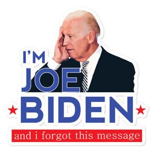 Joe Biden Sticker 2020 Funny Democrat Meme GOP Trump ...