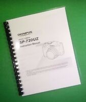 Laser Printed Olympus Camera Sp-720uz Sp720uz Manual User Guide 76 Pages.