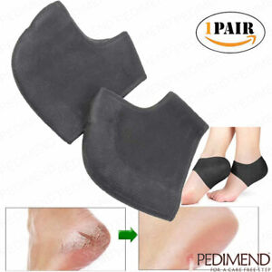 PEDIMEND-Silicone-Gel-Heel-Socks-for-Cracked-or-Rough-Heels-2-PCS-Foot-Care