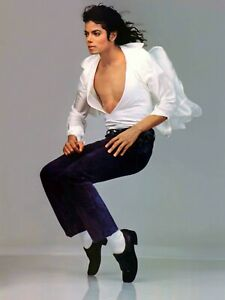 Michael Jackson white shirt on tip toes 18 x 24 Poster FREE SHIPPING