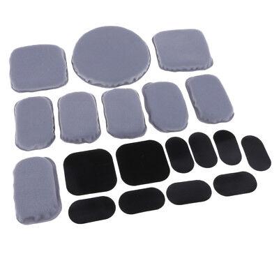 Kit di imbottitura in schiuma di ricambio universale Set di tappi per casco